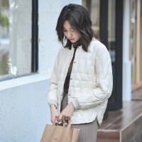 短款羽绒服女冬装时尚轻薄韩版小个子白鸭绒小款欧货冬款