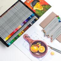 72色彩铅笔彩色马克油性水溶性手绘48色初学者学生用绘画