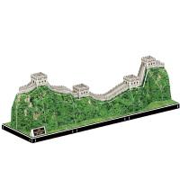 3D立体拼图纸质模型建筑中国长城拼装玩具益智儿童