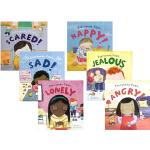英文原版 4册 Everybody Feels Scared/Sad/Happy/Angry 情绪管理 自我调节 每个