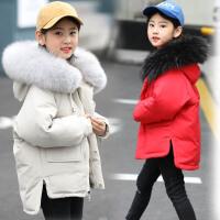 女童羽绒服新款冬季儿童韩版女宝宝