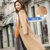 羊毛毛呢大衣女士2018秋冬装新款韩版学生长款过膝小个子呢子外套