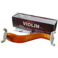 思雅晨小提琴肩托腮托肩垫实木肩垫弹簧肩托可调节1/8.1/4.1/2.3/4.4/4全尺寸实木系列肩托