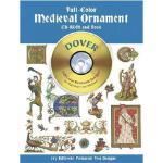 【预订】Full-Color Medieval Ornament CD-ROM and Book
