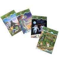 英文原版神奇树屋 Magic Tree House 5-8 美国中小学推荐课外阅读书籍 1-4续集 桥梁章节书 学习巩