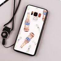 三星s8手机壳SM-G9500保护套SMG软胶防摔3星S8简约Galaxy