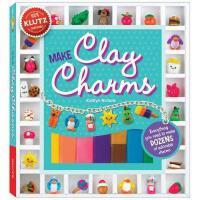 【限量现货】英文原版 趣味玩具书 Make Clay Charms [With Clay Shaping Tool, G