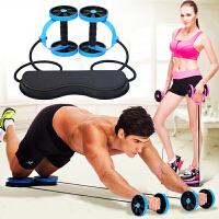 初学者锻炼健身器材家用多功能减肚子瘦腰马甲线健腹轮腹肌轮男士双轮健腹器