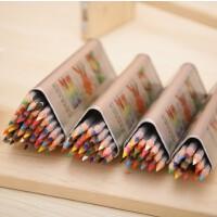 真彩 水溶性彩色铅笔 彩色铅笔 儿童画画用品 美术绘画