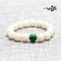 白菩提根手链手串素珠圆珠中国风民族风情