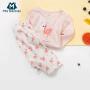 【满200减100】迷你巴拉巴拉女童儿童家居套装2018新款夏季宝宝睡衣套装潮