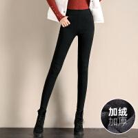 Lee Cooper新款铅笔裤女士高腰小脚裤紧身长裤打底裤保暖女裤