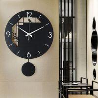 挂钟客厅个性时尚中式时钟现代简约大气北欧家用潮流钟表