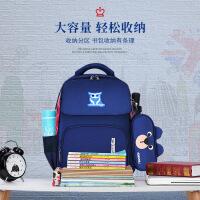 韩版儿童书包新款2019小学生书包男女双肩包英伦风