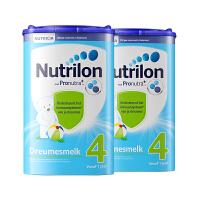 Nutrilon诺优能牛栏荷兰原装进口 婴幼儿牛奶粉配方奶粉4段800g 2罐装(1岁以上宝宝)保税仓发货
