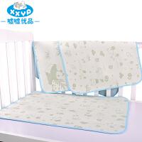 透气宝宝用品夏季 竹纤维凉席大号婴儿隔尿垫可洗