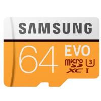 SAMSUNG/三星 64G手机卡 TF卡 MicroSD/SDXC高速存储卡4K 100M/S 内存卡 class1