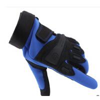 男士秋冬季户外运动手套半指手套户外骑行防滑全指手套
