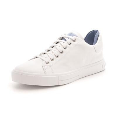 【满99减30】星期六(ST&SAT)2019春季专柜同款牛皮革潮流休闲小白鞋SS91112073