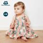 【限时1件6折 2件5.5折】迷你巴拉巴拉女童公主裙夏装婴幼儿宝宝背心裙儿童时尚连衣裙