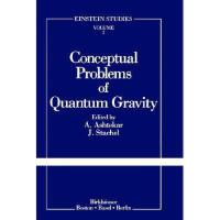【预订】Conceptual Problems of Quantum Gravity