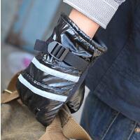 防滑男韩版冬季保暖防风防水手套骑车男士手套