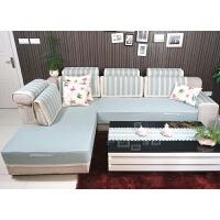 沙发套布艺沙发垫子棉麻沙发罩全盖全包四季防滑定做沙发笠
