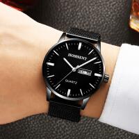 新款男表手表男士学生简约潮流休闲石英时尚非机械表