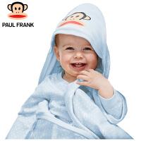 TWA3177117大嘴猴(Paul Frank) 婴幼儿抱被 春秋宝宝新生儿纯棉包被 90x90cm