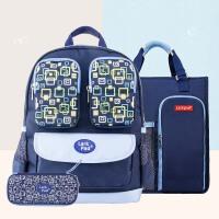小学生书包套装1-3年级男女孩 书包+手提补习袋+笔袋