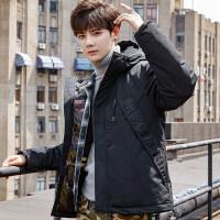 冬季外套男士2018新款韩版潮流加厚短款棉衣冬天宽松羽绒冬装
