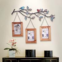 实木相框挂框 创意挂墙相片框 个性儿童照片框6寸