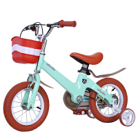 儿童自行车3岁宝宝脚踏2-4-6岁6-7-8-9-10岁童车男孩女孩小孩单车