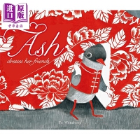 【中商原版】Fu Wenzheng 阿诗有块大花布Ash Dresses Her Friends 精品绘本 低幼情商启蒙