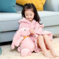 秋冬款女童睡裙珊瑚绒加厚儿童家居服长袖法兰绒睡衣小女孩连衣裙