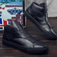 DAZED CONFUSED2015秋冬高帮男鞋英伦潮流休闲皮鞋板鞋