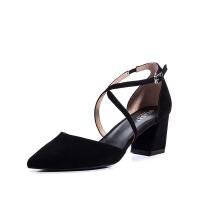 星期六(ST&SAT)女鞋2019年春季专柜同款绒面羊皮革SS91114137