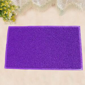 享家素色蹭泥防滑脚垫除尘垫60*90�M 大门口入户进门地毯门厅门垫地毯地垫