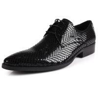 DAZED CONFUSED 春夏 头层漆皮商务男鞋英伦尖头休闲鞋潮流男单鞋