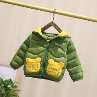 男女宝宝轻薄羽绒1-2-3-4岁婴儿棉衣冬装反季小儿童男童棉袄