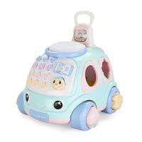 儿童拉线车拖拉玩具电话车1-2-3岁智力玩具男女宝宝手拉车