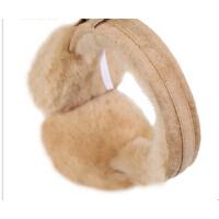 秋冬女士冬季保暖发箍耳套耳包羊皮羊毛耳罩