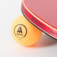 一星 乒乓球 6个 安格耐特 F2391 比赛训练用 黄色白色