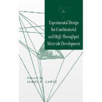 【预订】Experimental Design For Combinatorial And High
