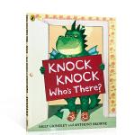 顺丰发货 英文原版Knock Knock Who's There? 敲门的是谁 万圣节亲子阅读绘本 儿童启蒙故事图画书
