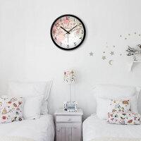 挂钟客厅创意钟表现代时钟圆形钟表挂表卧室静音主题系列壁钟
