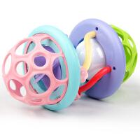 手抓球球早教6-12个月宝宝抠洞洞玩具软胶健身球