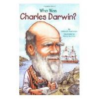 【现货】英文原版 Who Was Charles Darwin?漫画名人传记:查尔斯�q达尔文是谁 中小学生读物