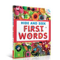 DK幼儿认知 图解词典 Hide and Seek First 100-300 Words 初学头脑体操书 视觉大发现