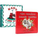 汪培�E第5五阶段 3册纸板书名家绘本图画书 英文原版 The Little House Katy 名家绘本 Virgi